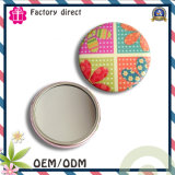 Wedding Gift Metal Hand Small Pocket Mirror Cheap for Pocket