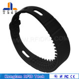Customized Various Chip Smart RFID Silicone Wristband for Airport Parcel
