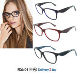 Fashion Handmade Acetate Eyewear Frame with Ce and FDA