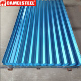 Zinc Corrugated Steel Roofing Tile / Coated Gi Metal Roofing Sheet