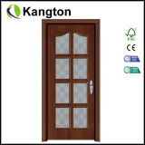 Glass Panel PVC Bathroom Door (PVC bathroom door)