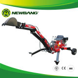 ATV Gasoline Backhoe with Ce