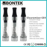 Cigarette Electronic Clearomizer Ce4, High Quality Clearomizer Ce4, Clear Atomizer