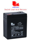 Sealed Rechargeable Lead-Acid Battery(6V8AH/20HR)
