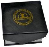 High Quality Black Colour Fashion Packaging Box (YY-B0231)