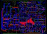 Circuit Board PCBA-206, PCB Assembling