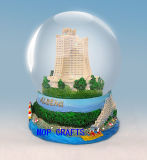 Resin Snowglobe for Polyresin Souvenirs Gifts
