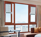 Fuxuan Aluminium Tilt and Turn Window with Blind