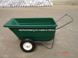 200L Garden Cart With Green Large Capacity Plastictray