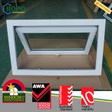 UPVC Double Glazed Window, PVC Awning Window Design