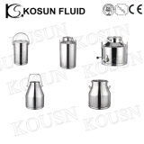 Stainless Steel Food Grade Milk and Laboratory Polished Flask
