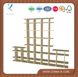 8′ Wide 2-Tier Wood Display Stands