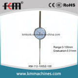 0-100mmx0.01mm Dial Indicator Professional Supplier