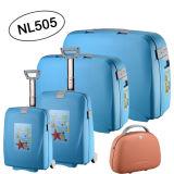 5PCS Set Suitcase with China Factory PP Luggage Sets (NL505)
