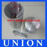 Excavator Engine Cylinder Liner Kit Yanmar 4TNV94L-SSN Piston