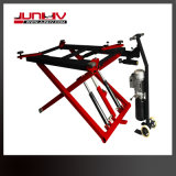 Double Hydraulic Cylinders Mobile Scissor Car Lift