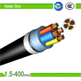Low Voltage Copper Conductor 10m2 XLPE Power Cables