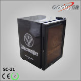 Modern Supermarket Mini Bar Cooler with External Patterns (SC21)