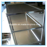 Three Layers Trolley Stainless Steel Trolley