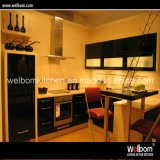 Welbom Black Gloss Exquisite Kitchen Cupboard