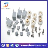 Whole Set of Plastic Parts and Wheels for 3 Moving Shower Glass Door
