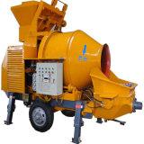 Concrete Pumping Capacity 30m3/H Jbt30 Concrete Pump with Mixer