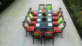 Cast Aluminum Mesh Table and Chairs Set