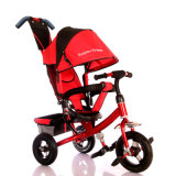3 Colors Steel Frame Material Baby Stroller Tricycle for Kids