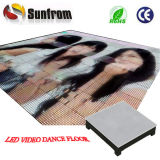Popular P25 High Definition Video LED Interactive Dance Floor