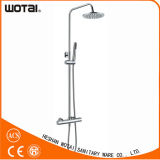 Chrome Plate Finished Wall Mounted Shower Faucet