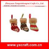 Christmas Decoration (ZY16Y201-1-2-3 14.5CM) Christmas Gift Sock Ltd Christmas Catalog
