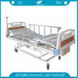 AG-BMS001 5-Function Cheapest Manual Crank Hill ROM Hospital Bed