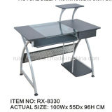 Fashionable PC Table with Fixed Computer Host Rack (RX-8330)