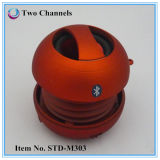 Red Color X Portable Mini Hamburger Bluetooth Speaker