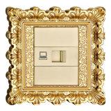Brass Wall Data Socket / Broadband Socket / Wb Socket