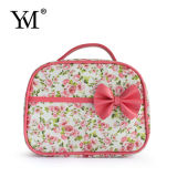 Cotton Fabric, Pop Sale, Full Print Cosmetic Pouch with Bow