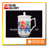 Bone China Cup with Cover of GB020