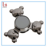 Novelty 2017 Gifts Bear Design Metal Toy EDC Hand Spinner