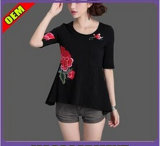 Fashion Sexy Printed T-Shirt for Women (W204)