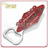 Custom Made Souvenir Chrome Plated Metal Can Opener for Casino
