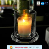 Clear Bell Shaped Dome Glass Jar Candle Holder Wholesale