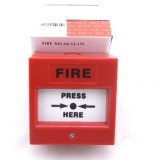 Square Manual Call Point Fire Alarm Button (PW-214)