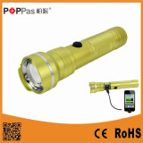 CREE Xm-L T6 USB Power Bank Rechargeable LED Flashlight