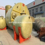 Insulation Horizontal FRP Storage Pressure Vessel Tanks