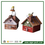 Decoratitive Bird House Wooden Music Box for Gift