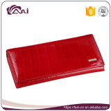Fani Chinese Red Genuine Cow Leather Wallet Luxury Design, Women Wallet
