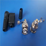 Manufacture Good Quality BNC Male Solderless Connector (B_058)