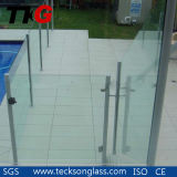 Clear Toughened/Tempered Glass with Polished Edges
