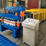 Double Layer Steel Galzed Tile Roofing Roll Forming Machine