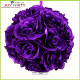 Best Selling Big Purple Flower Ball for Wedding Decoration